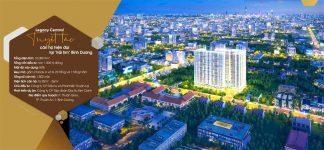"""Legacy Centraltổ hợp căn hộ chung cư và shophouse được xây dựng trên khu đất rộng 1 ha. Gồm2 blockcao29 tầngnổivà1 tầng hầm, cung cấp ra thị trường1.802 sản phẩm. Căn hộ chung cư có đa dạng diện tích, trung bình từ32 – 60m2. Đây là dự án chung cư tiếp theo của chủ đầu tưKim Oanhtại """"Thủ phủ công nghiệp"""" Bình Dương. Sau thành công vang dội của và rực rỡ củaThe EastGate. Án ngữ ngay vị trí sầm uất, khu vực phát triển năng động của địa phương. Căn hộLegacy Centraltọa lạc ngay mặt tiền đường Thuận Giao 25, phường Thuận Giao, TP Thuận An, tỉnh Bình Dương."""