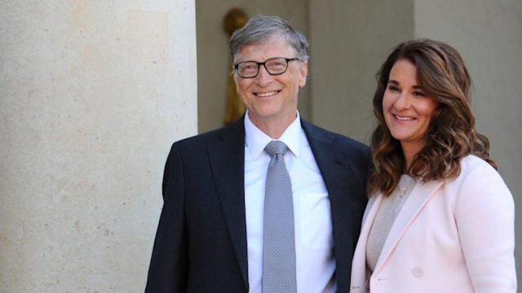 vợ chồng tỉ phú Bill Gates
