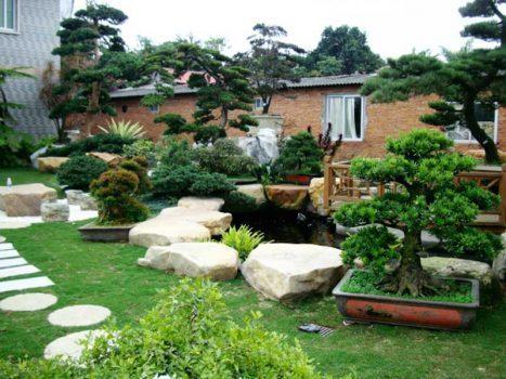Cách kiến tạo cảnh quan sân vườn hợp phong thuỷ