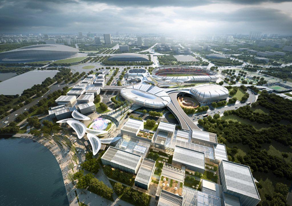 Thiết kế dự án Saigon Sports City