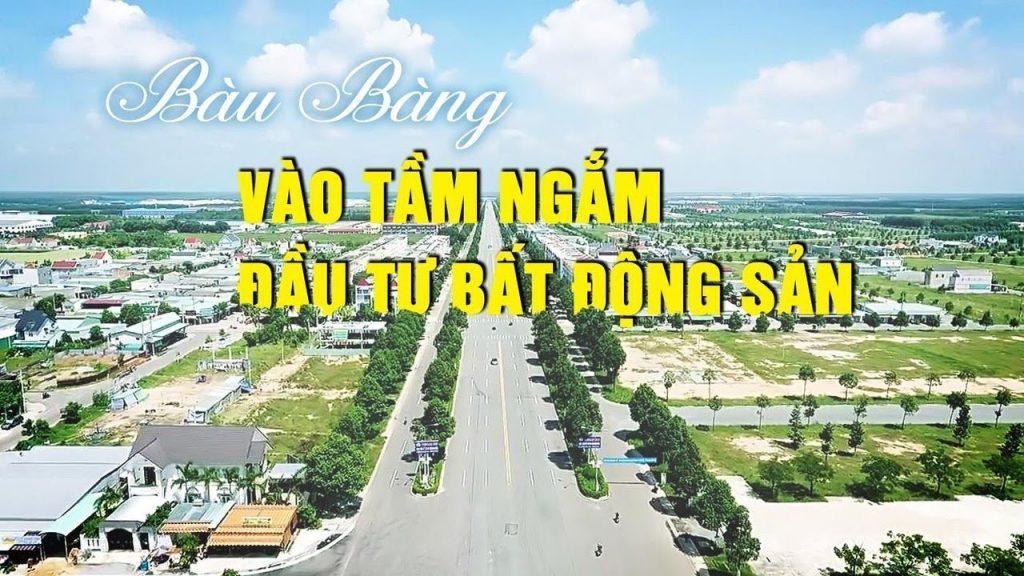 Thông tin quy hoạch huyện Bàu Bàng đến 2030